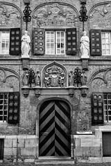 Latijnse school, Nijmegen. (wimjee) Tags: nikond7200 nikon d7200 afsdx1680mmf284eedvr nijmegen gelderland nederland netherlands niksoftware silverefexpro2 monochrome zwartwit blackwhite