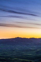hills and sky (michael.taferner) Tags: canon eos 6d 1635f4 tosca italy holiday summer landscape sky sunset evening fields