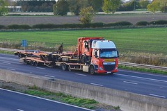 FZA 39662 (Martin's Online Photography) Tags: daf cf truck wagon lorry commercial vehicle m62 sandholme eastyorkshire nikon nikond7200