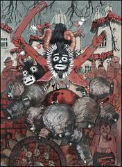 СТАРЕЦ (КАЗАНЛЪШКИ КУКЕРИ) (CrimeanArtist) Tags: рисунок цветной карандаш карандаши пастель гуашь drawing gouache pastels colorful colored lápiz crayon pencil фольклор folklore festival bulgaria bulgarian spooky eerie enigma ghost fantasma spectre specter призрак привидение thriller men болгария кзанлык българия българи българщина казанлък kouker koukeri кукер кукери kids child children boys girls man young old хэллоуин halloween хелоуин хэлоуин 2018 noche brujas todos santos all saints happynewyear new year day folk ethnic ethno costume traditional ряженый ряженые natgeo world ethnography ethnographic этнография