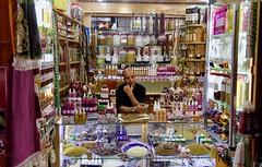 The man in the shop (Alex L'aventurier,) Tags: fez fes fès maroc morocco médina medina shop store man homme marocain colors couleurs