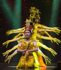 DAG_8923r (crobart) Tags: thousand hand bodhisattva eyes yate dance acrobatic team chinese china canadian national exhibition cne 2018 toronto