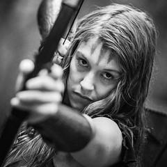 "(Lee ""Pulitzer"" Pullen) Tags: bristol nikond810 leighwoods larp liveactionroleplay empire navarr archer archery bowandarrow reenactment woods forest cosplay blackandwhite nikonafsnikkor70200mmf28gedvrii"