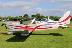 EI-EOU (GH@BHD) Tags: eieou evektor evektoraerotechnik ev97 eurostar eurostarsl ballyboyairfield ballyboy athboy aircraft aviation microlight