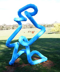 #31 Much like life the universe and everything (spelio) Tags: actsep2018shawyassvalleynsw canberra australia sep 2018 rural art sculpture murrumbateman