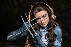 X-23 (S1Price Lightworks) Tags: x23 cosplay xmen xforce cosplayer girl claws marvel comics comiccon comic sigma art 50mm
