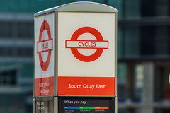 Canary Wharf - London UK - Cycles (erengun3) Tags: canarywharf london canary wharf reuters londra transport for