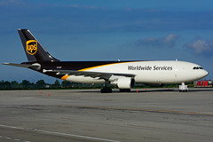 N145UP (UPS) (Steelhead 2010) Tags: ups unitedparcelservice airbus a300 a300600f cargo yhm nreg n145up