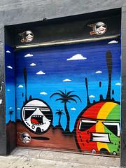 Hey Mon! by MiTroopers (wiredforlego) Tags: graffiti streetart urbanart eastvillage manhattan newyork nyc aerosolart mural shutter mitroopers