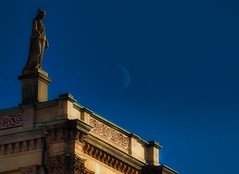 Guardian (PHOTOGRAPHY Toporowski) Tags: blau architektur existinglight himmel natur architecture nature herbst licht blick light spirit blue contrast autumn sky eschweiler nrwnordrheinwestfalen deutschland deu