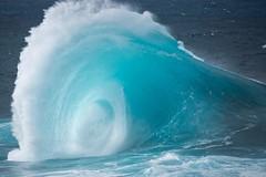 Vida azul / Blue life (Leticia Lorenzo S Photography) Tags: canaryisland grancanaria ocean sea bigwave waves wave olas olazas