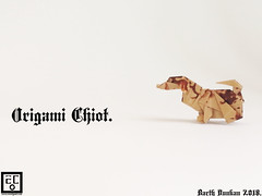 Origami Chiot - Barth Dunkan. (Magic Fingaz) Tags: anjing barthdunkan chien chó dog hond hund köpek origami paperfolding perro pies пас пес собака หมา 개 犬 狗