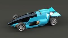 Tiburron Mako (∅Sepulchure) Tags: tt tiny turbo lego car moc cyber cyberpunk concept futuristic f1 trackmania shark