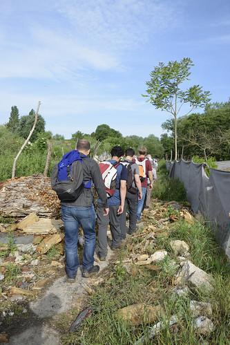 Marche de la rivière