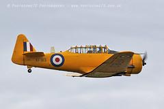 5955 Harvard KF183 (photozone72) Tags: duxford iwmduxford aircraft airshow aviation canon canon7dmk2 canon100400f4556lii 7dmk2 airshows harvard yellow