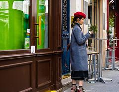 RedCap.jpg (Klaus Ressmann) Tags: klaus ressmann omd em1 asian fparis france peoplestreet spring candid flcpeop streetphotography tourist trendy unposed woman klausressmann omdem1