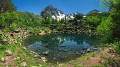Caucasus Mountains (kurmysh0v) Tags: caucasusmountains mountains reflections landscape nature water snow summer russia ngc