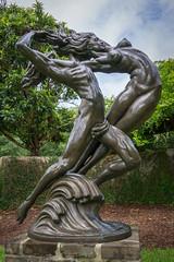 Permanent Waves (dayman1776) Tags: sculpture statue escultura skulptur sony a6000 beautiful manmade female woman nude naked brookgreen gardens garden south carolina museum art fine bronze