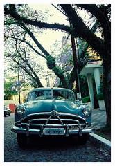 Old Car - Hudson Hornet (Claudio Arriens) Tags: carro car vintage 35mm film scanner canoneos3000 brasil portoalegre hudson hudsonhornet 50s