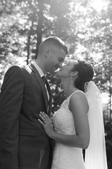 DSC_0129-2 - Copy (Michael P Bartlett) Tags: wedding love marriage together hitched bw mono bride groom