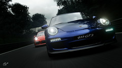 Porsche 911 GT3 & GT3 RS (Matze H.) Tags: porsche 911 gt3 rs gt sport gran turismo ingame screenshot photo mode monza dark evening race track road playstation 4 pro hdr uhd 4k wallpaper