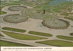MCI01 (By Air, Land and Sea) Tags: airport postcard mci kansascity missouri kansascityinternationalairport aircraft airplane airline
