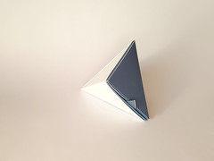 Hexabox - Closed (k0v1) Tags: origami papercraft geometric box triangular hexahedron
