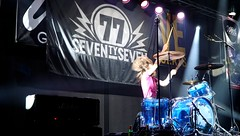 '77 (Seventy Seven)  - Rock seventies / Espagne (Philippe Haumesser Photographies (+ 6000 000 view)) Tags: music musique concert live scène stage groupe band rockband rock 169 personnes sonyilce6000 sony 2018 peoples