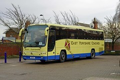 BEVERLEY 240116 A9EYC (SIMON A W BEESTON) Tags: beverley eyms eastyorkshiremotorservices volvo plaxton 57 a9eyc yx57bwj