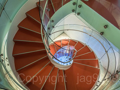 Spiral Staircase, Bohemian National Hall, Upper East Side, Manhattan, New York City (jag9889) Tags: 2018 20181013 aerialview czech czechrepublic czechia event indoor landmark manhattan ny nyc newyork newyorkcity newyorkisopen ohny ohnyweekend openhouse openhousenewyork staircase stairs ues usa unitedstates unitedstatesofamerica uppereastside jag9889