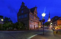 Wilster Rathaus (rahe.johannes) Tags: wilster wilstermarsch rathaus historisch blauestunde architektur altstadt schleswigholstein