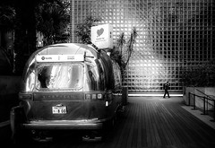 (ken's style 1) Tags: japan tokyo town urban city momochrome blackwhite car man morning snap street