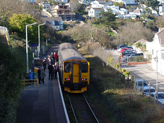 150265 Carbis Bay (1) (Marky7890) Tags: gwr 150263 class150 sprinter 2a17 carbisbay railway cornwall stivesbayline train
