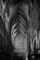 Cathedrale Saint-Etienne (Fred Luckythirteen) Tags: canon powershot g7x rawtherapee gimp noir noirblanc noiretblanc black blackwhite monochrome metz moselle 57 lorraine france cathedrale saint etienne