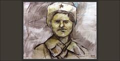 RUSIA-SOLDADOS-SIBERIANOS-EJERCITO-RUSO-URSS-ARTE-PINTURA-SEGUNDA GUERRA MUNDIAL-PERSONAJES-SIBERIA-MILITAR-HISTORIA-PINTURAS-ARTISTA-PINTOR-ERNEST DESCALS (Ernest Descals) Tags: rusia rusos ruso russian soldier soldiers moscu batalla battel battalas urss segundaguerramundial hombres men siberia orient oriente siberians siberian siberiano siberianos soldado soldats ejercito divisiones frio cold temperatura secondwordlwar ww2 art arte portrait retrato retratos personajes man expresion expresiones artwork pintura pinturas pintures pintar painters paint painter paintings pintores pintors pintor plastica ernestdescals painting pictures pintando wehrmacht ejercitos army russia redarmy artist artistas artista plasticos uniform uniforme gorro star red history thirdreich historia historicos militar