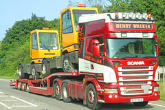 Scania R480 Henry Walker AY07 CKE (SR Photos Torksey) Tags: transport truck haulage hgv lorry lgv logistics road commercial vehicle traffic freight scania r480 henry walker