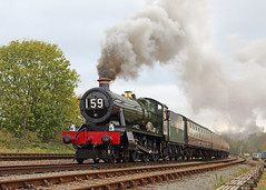 Witherslack Hall (Treflyn) Tags: gwr modified hall 460 6990 witherslackhall swithland sidings gcr great western central railway tle timeline events photo charter