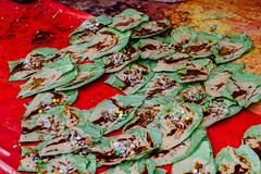 Sweet Paan For Sale, Uttar Pradesh (AdamCohn) Tags: 013kmtobaldevinuttarpradeshindia adamcohn baldeo baldev india uttarpradesh geo:lat=27408011 geo:lon=77822395 geotagged holi paan paanwallah wwwadamcohncom