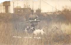 1912 - H M Wahl hunting