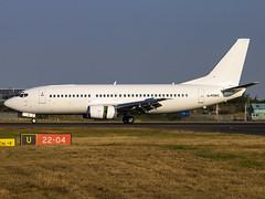 Titan Airways | Boeing 737-33A(QC) | G-POWC (Bradley's Aviation Photography) Tags: egss stn stansted stanstedairport londonstanstedairport canon70d essex aircraft air aviation avgeek aviationphotography titan b733 titanairways boeing73733aqc gpowc