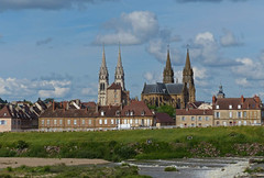 Moulins (Andy WXx2009) Tags: landscape cityscape artistic river moulins france architecture spire church religion beauty buildings history culture cathedral tower europe landmark skyline
