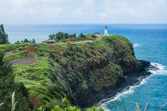 The beautiful lighthouse at Kilauea Point (thomaslchen) Tags: thomaslchen photography blog kauai hawaii lighthouse kilauea point travel landscape