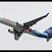 B737-8SH/WL | Mandarin Airlines | Taichung | B-18659 | HKG