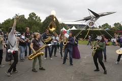 Maker Faire Day 2 (NYSCI) Tags: nysci newyorkhallofscience stem science make makerfaire worldmakerfaire queens corona hallofscience museum ny newyork nyc newyorkcity flushingmeadowscoronapark flushing festival fair band saxophone trumpet tuba drum