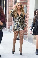 Mariah Carey (keioffice26_) Tags: mariahcarey singer mother diva newyork nbcupfront fashion style arriving shortdress posing legs christianlouboutin pumps touchinghair ny usa
