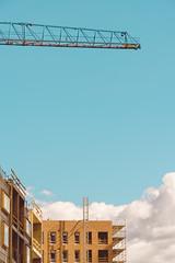 Sompasaari Changing (1) (pni) Tags: scaffolding cloud sky crane buildingsite sompasaari suparn helsinki helsingfors finland suomi pekkanikrus skrubu pni