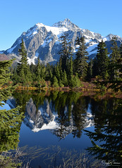 Heather Meadows - Mt. Baker - Snoqualmie National Forest (SonjaPetersonPh♡tography) Tags: mtbakersnoqualmienationalforest mtbaker mountains mountainvistas mountainlandscape mountbaker mountain washington washingtonstate stateofwashington whatcomcounty snoqualmienationalforest nikond5300 nikon peak snow heathermeadows water waterreflections reflections autumn october mtshuksan lake forest