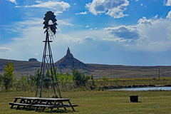 chimney rock national historic site (what's_the_frequency) Tags: oregontrail buttes nebraska panhandle nebraskapanhandle solitude panorama roadtrip roadtrip2018 september autumn fall scenic beauty beautiful sky clouds sony a65 bayard hwy92