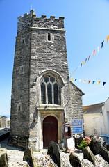 St Just Church (Worthing Wanderer) Tags: southwestcoastpath cornwall cornwallcoast coast cloudy sunny river path summer august roseland portholland