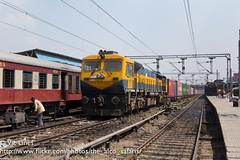 180920_01 (The Alco Safaris) Tags: dlw emd wdg4d 70601 izn delhi jn indian railways broad gauge freight train